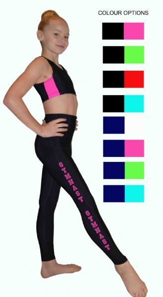Leggings and Crop Top Set  From £35.90 (£38.80 if purchased seperately)
